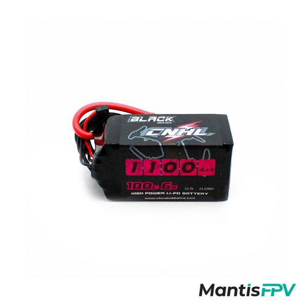 chinahobbyline cnhl lipo battery black series 6s 22.2v 100c 1100mah product mantisfpv 1