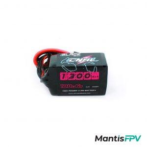chinahobbyline cnhl lipo battery black series 6s 22.2v 100c 1300mah product mantisfpv