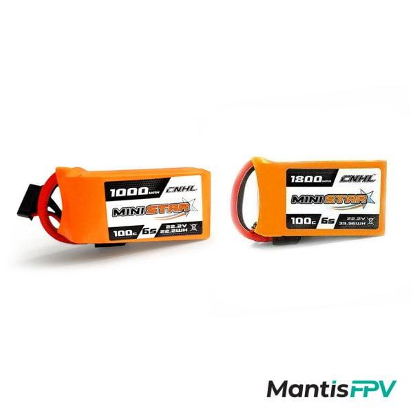 Chinahobbyline Ministar 1000/1800mAh 100C 6S Lipo Battery