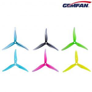 gemfan props 5125 logo colours branding mantisfpv 1