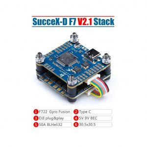 iflight stack electronics succex d F7 V2.1 TwinG Baro 50A Stack product mantisfpv 1