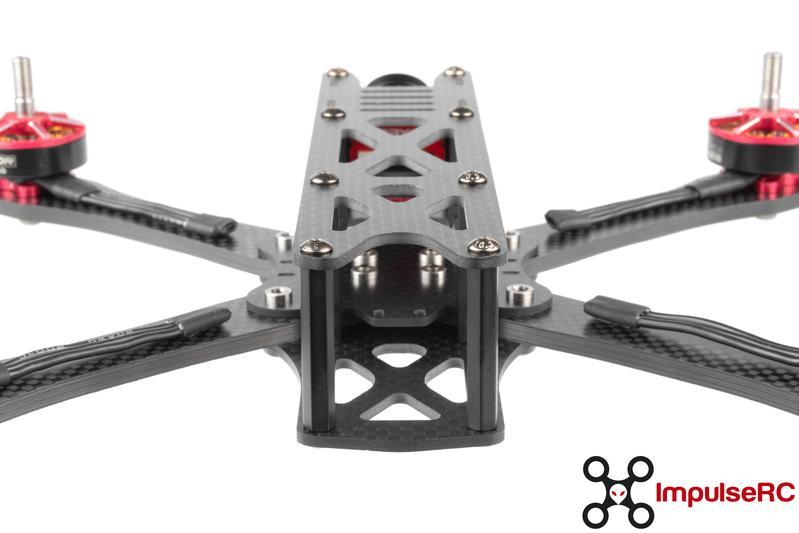 impulserc frame alien 5inch frame kit 3 mantisfpv