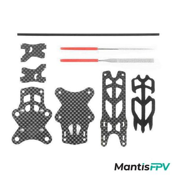 impulserc frame microreverb3 carbon pieces mantisfpv