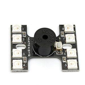 matek tail light WS2812B loud buzzer 6 mantisfpv 1 e1634004393110