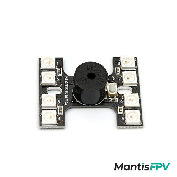 Matek Tail Light WS2812B & Loud Buzzer Dual Modes
