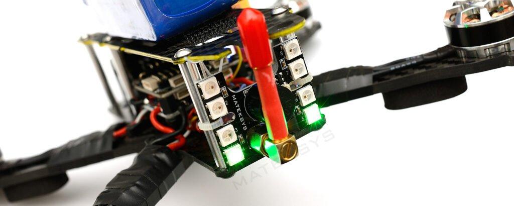 matek tail light WS2812B loud buzzer desc mantisfpv