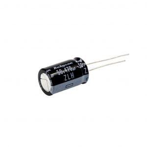 rubycon 12.5 20mm zlj low esr 50v 470uf 20 capacitor 1 1