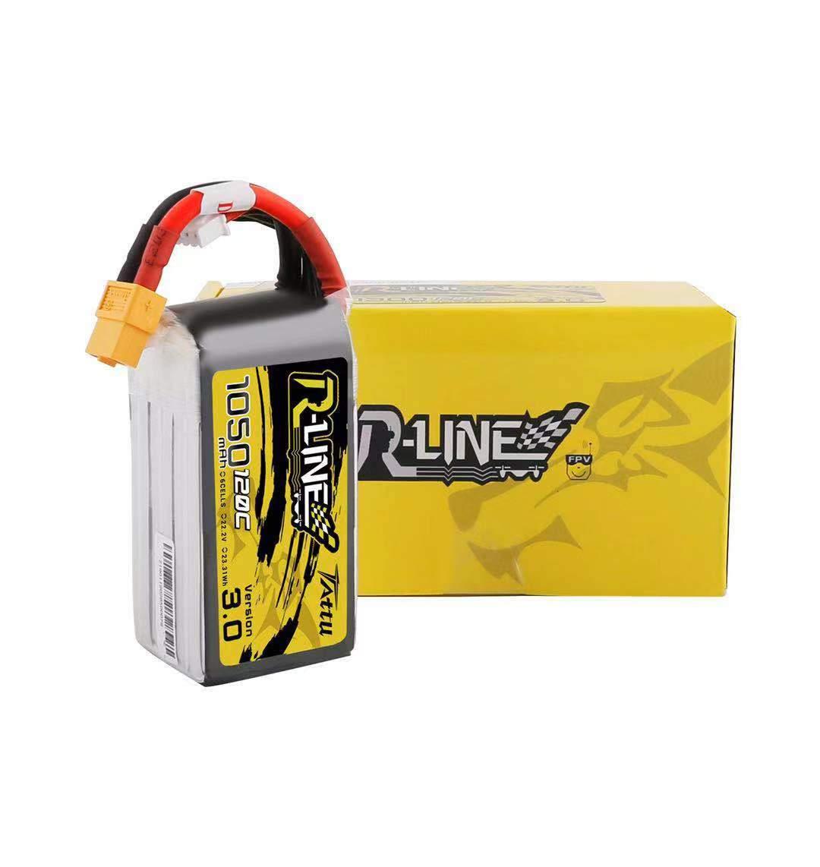 tattu r line battery pack v3 1050mah 120c 6s1p lipo 3 mantisfpv
