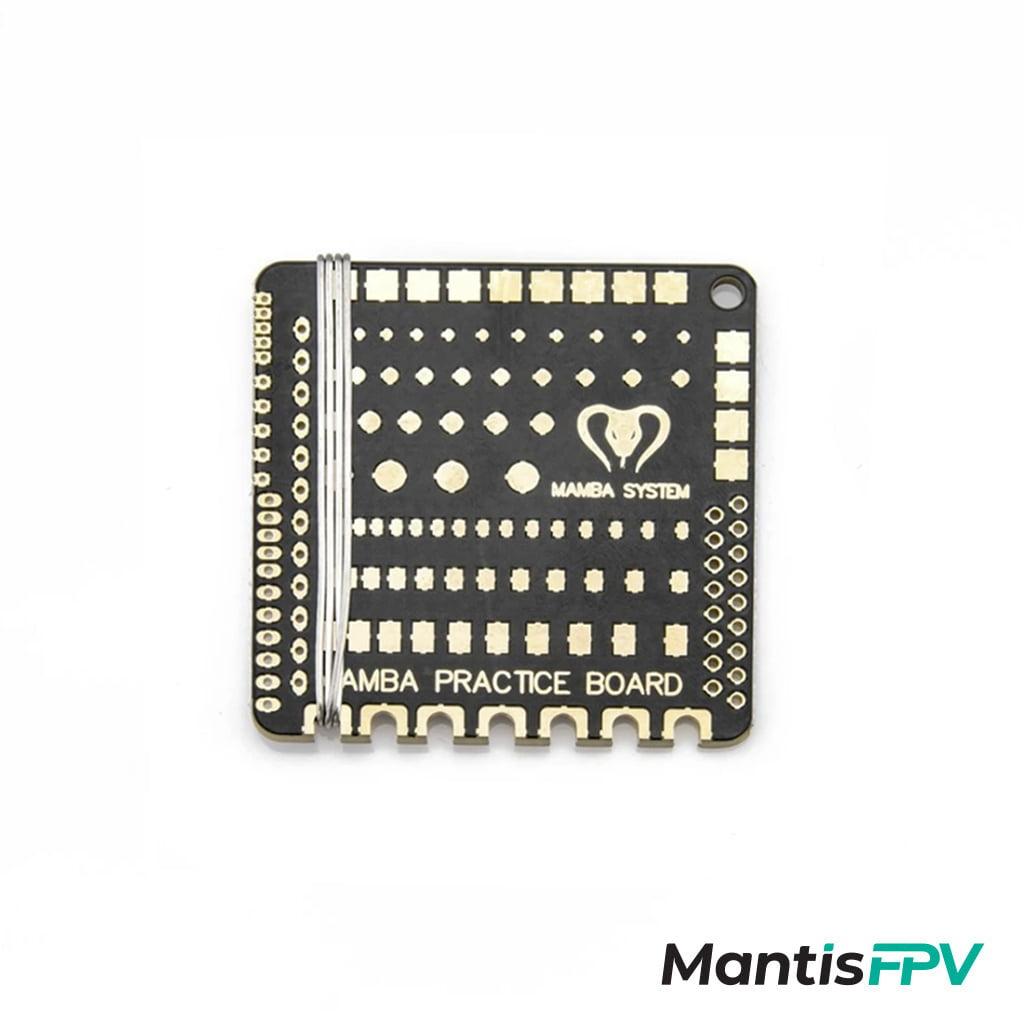 diatone mamba practice soldering board mantisfpv