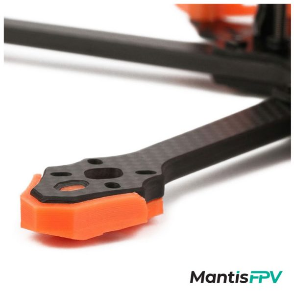 tmotor frame ft5 black orange arm mantisfpv
