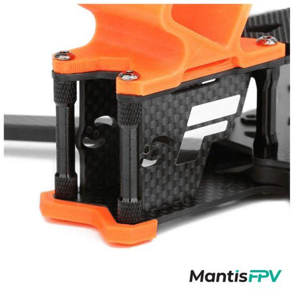 tmotor frame ft5 black orange zoomedcamera mantisfpv