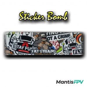 FatStraps Sticker Bomb DJI FPV Goggles Head Strap