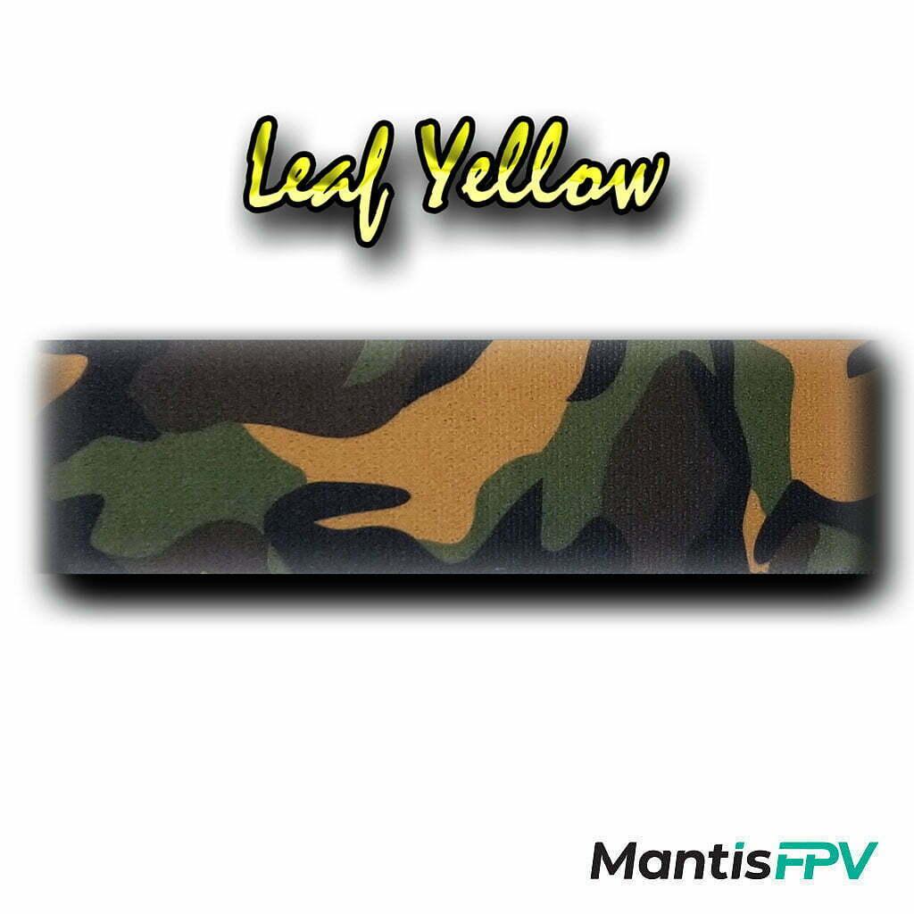 FatStraps yellow leaf mil spec DJI FPV Goggles Head Strap Australia product MantisFPV