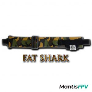 FatStraps Yellow Leaf FatShark FPV Goggles Head Strap