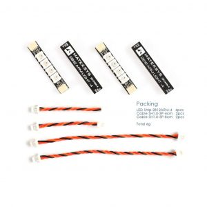 Matek 2812 ARM Light 4xLED Pack of 4 Australia mantisfpv 1