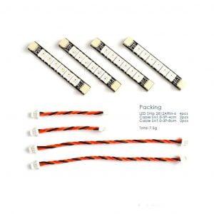Matek 2812 ARM Light 6xLED Pack of 4 Australia mantisfpv 1