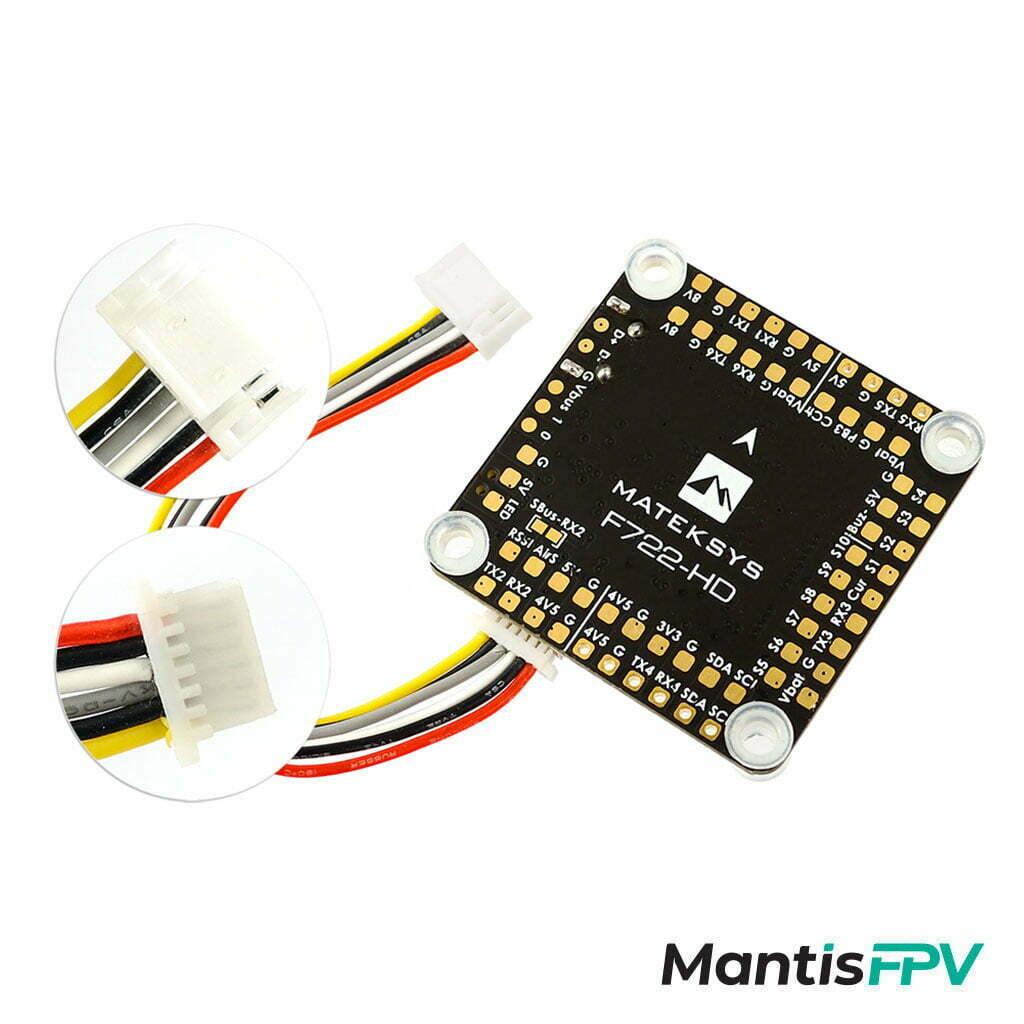 Matek F722 HD Flight Controller Digital product plug and play Australia MantisFPV