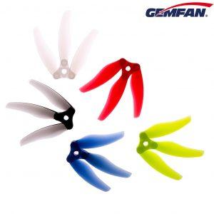 gemfan floppy proppy 5135 3 foldable propeller set of 4