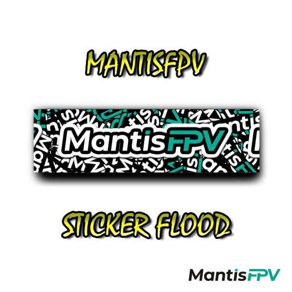 mantisfpv sticker flood design australia