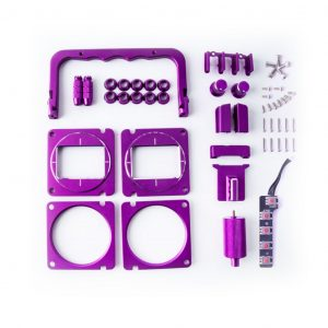 radiomaster tx16s cnc upgrade part set purple australia mantisfpv 1