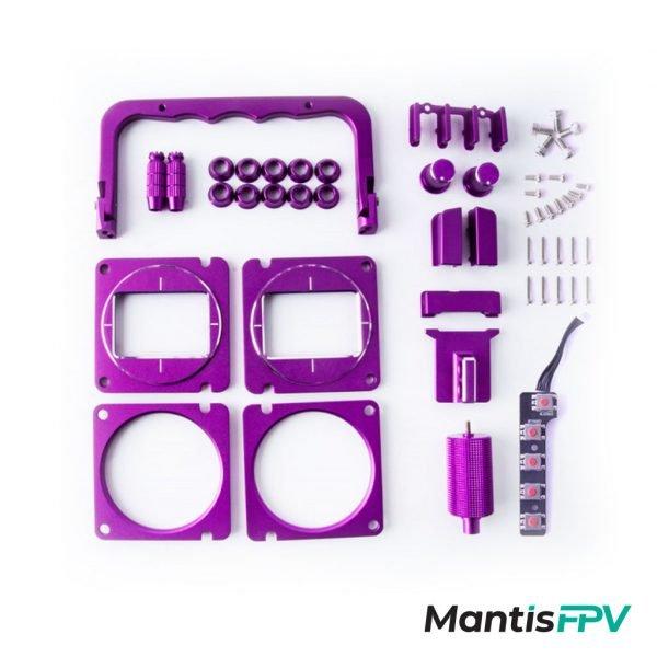radiomaster tx16s cnc upgrade part set purple australia mantisfpv