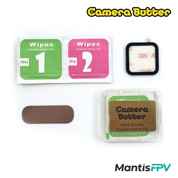 Camera Butter Hero 8 Glass Lens Replacement Kit