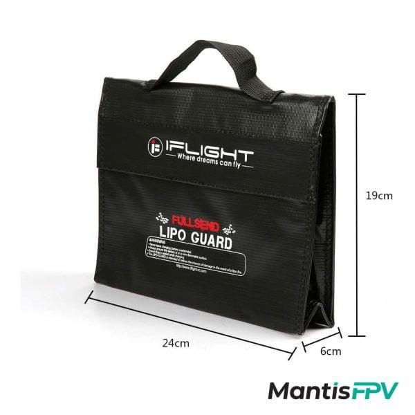 iflight lipo safe guard battery bag size mantisfpv