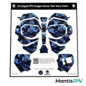 Rotor Riot DJI FPV Goggles Skin Wrap