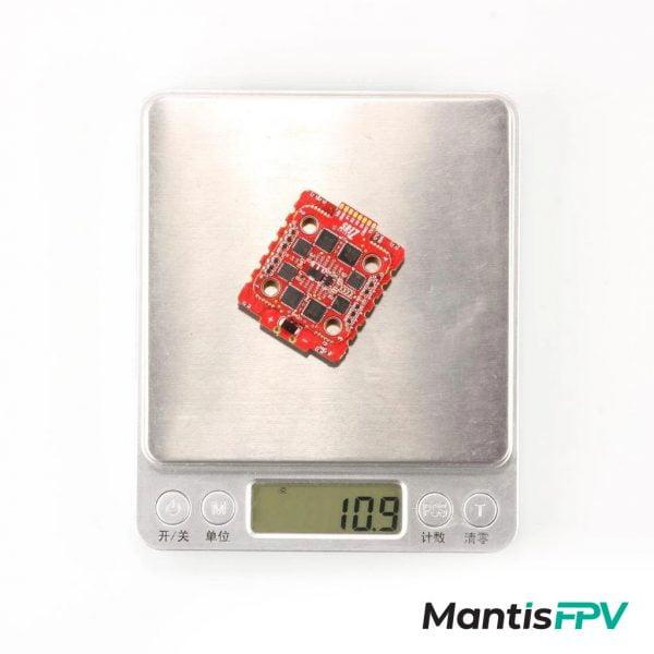 hglrc zeus 45a 20x20 blheli32 esc weight mantisfpv