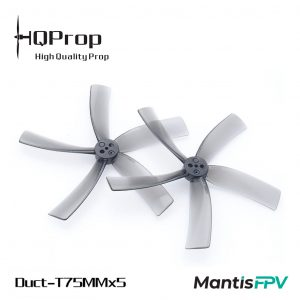 HQProp Duct T75mmx5 for Cinewhoop (Set of 4)