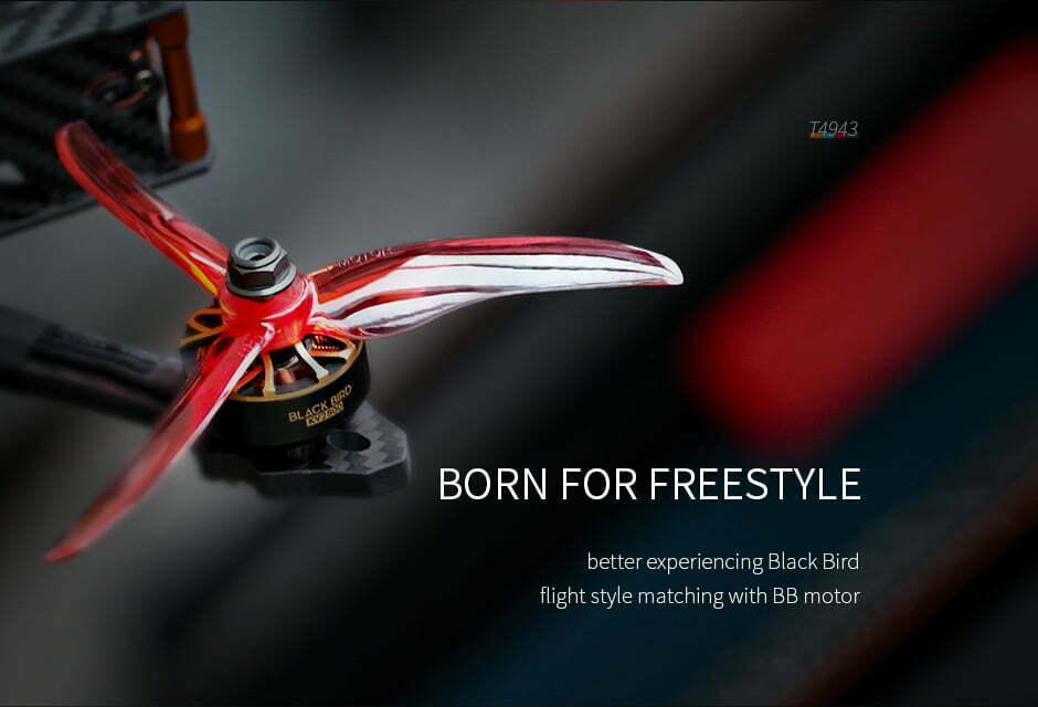 mantisfpv tmotor 4943 born for freestyle