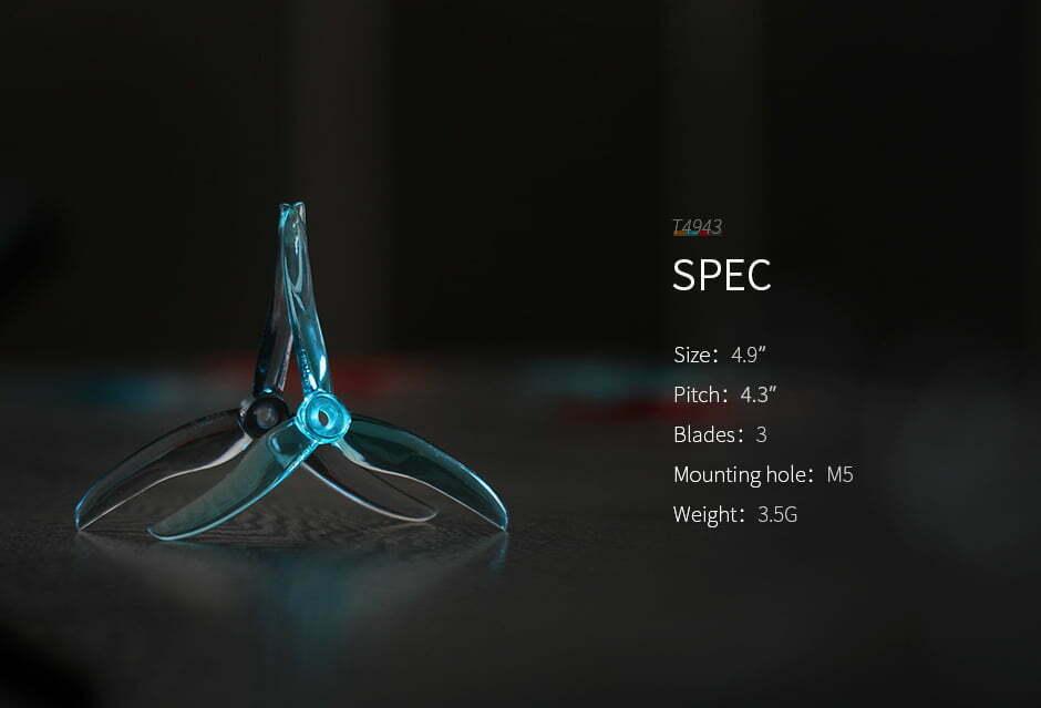 mantisfpv tmotor 4943 specs