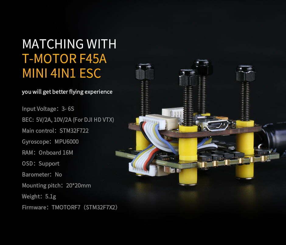 mantisfpv tmotor f7 mini stack