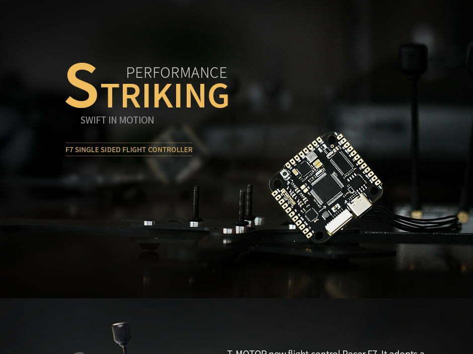t motor pacer f7 single sided fc design mantisfpv