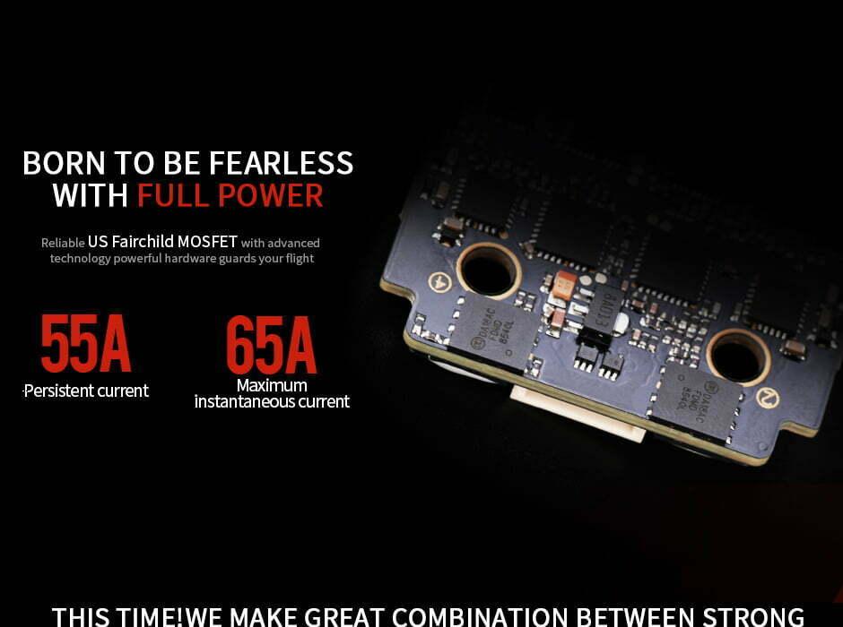 t motor ultra f55a description mini 4in1 esc mantisfpv