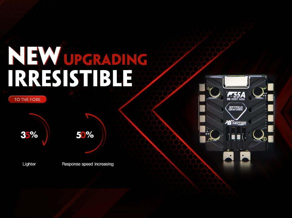 t motor ultra f55a mini 4in1 esc new