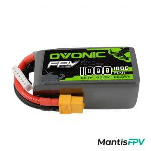 Ovonic 22.2V 100C 6S 1000mAh LiPo Battery