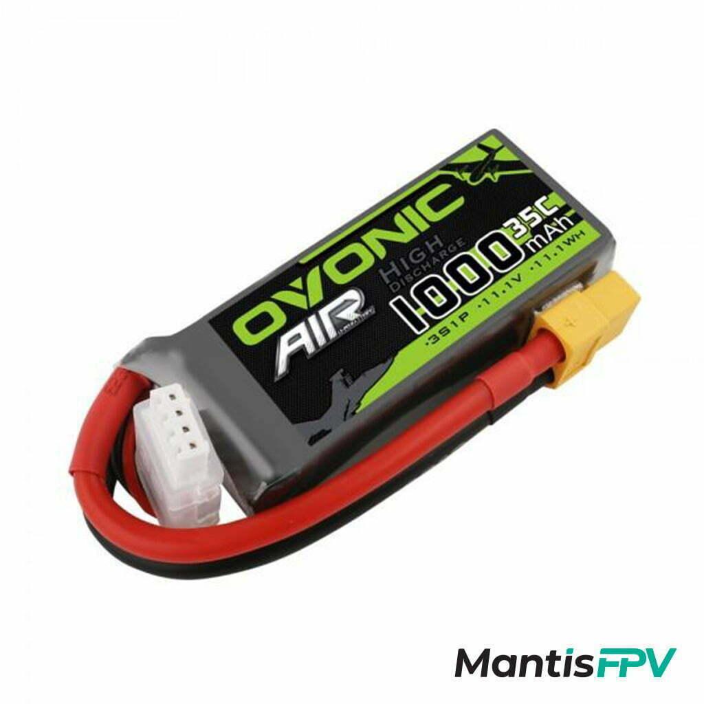 Ovonic 1000mah 3S 11.1V 35C Lipo Battery