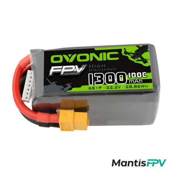 Ovonic 1300mAh 6S 22.2V 100C LiPo
