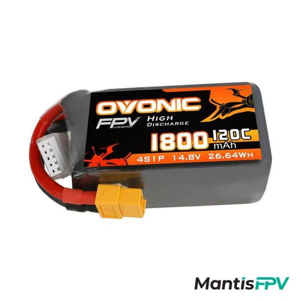 Ovonic 120C 4S 1800mAh 14.8V LiPo Battery