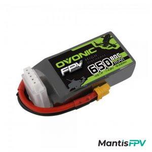 Ovonic 14.8V 80C 650mah 4S Lipo Battery