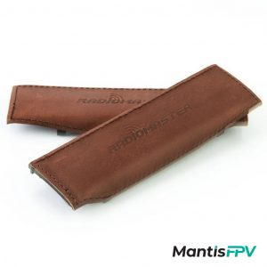 RadioMaster TX16S Brown Leather Side Grips Pair