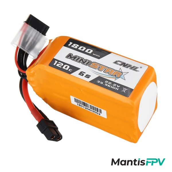 chinahobbyline 1800mah 120c 6s lipo battery australia mantisfpv