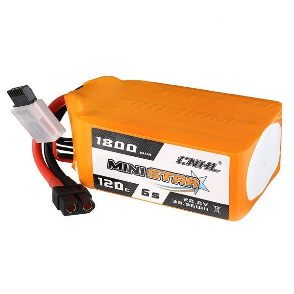 chinahobbyline ministar 1800mah 120c 6s lipo battery mantisfpv 1