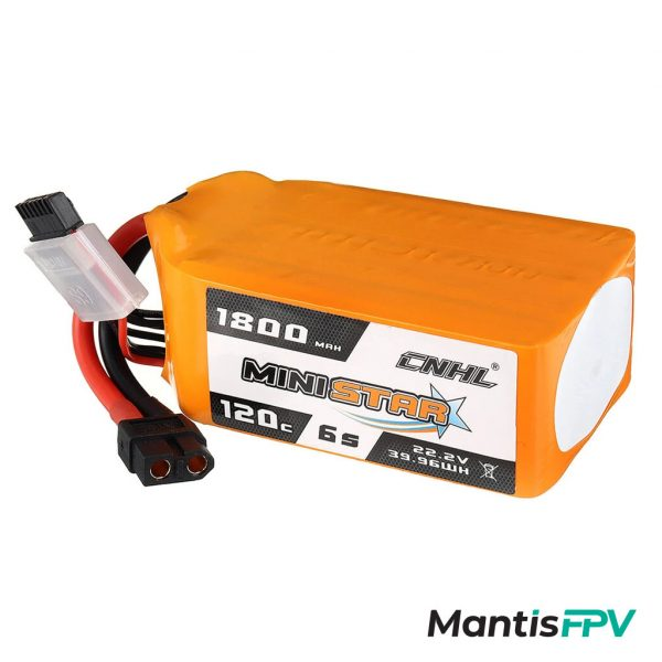 Chinahobbyline Ministar 1800mAh 120C 6S Lipo Battery