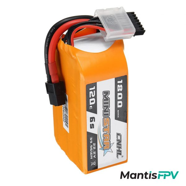chinahobbyline ministar 1800mah 6s lipo battery mantisfpv