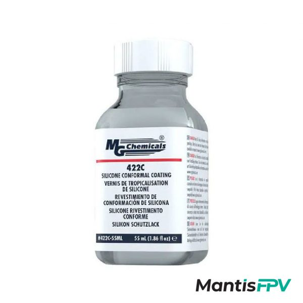 MG Chemicals 422C 55ml Silicone Conformal Coating For Waterproofing Quads