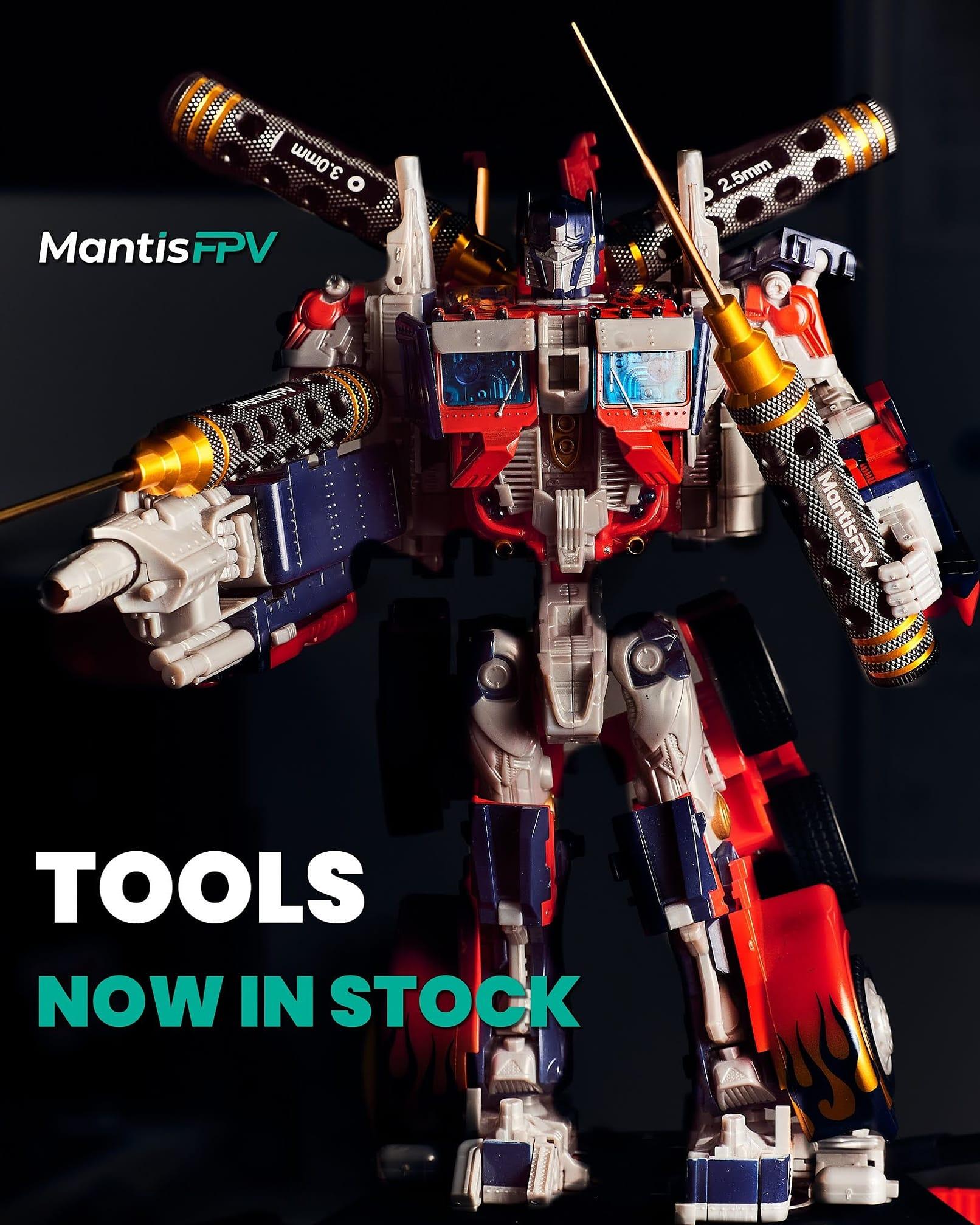 Optimus Prime as a model for MantisFPV