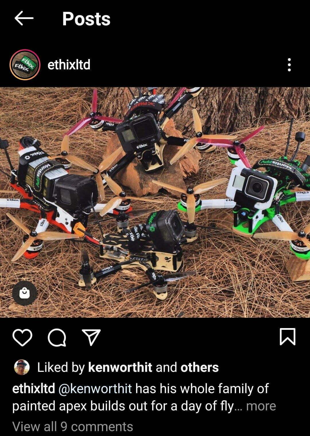 ethixltd instagram mantisFPV