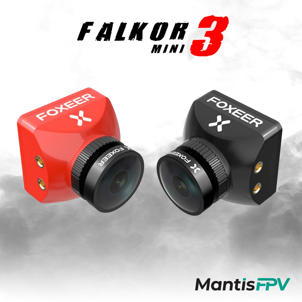 foxeer falkor 3 mini 1200tvl wdr low latency fpv camera product australia mantisfpv